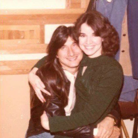 Lucky Girl and Steve Perry (em) | Steve Perry in 2019