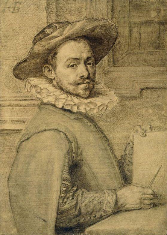 Hendrik Goltzius, Self-portrait