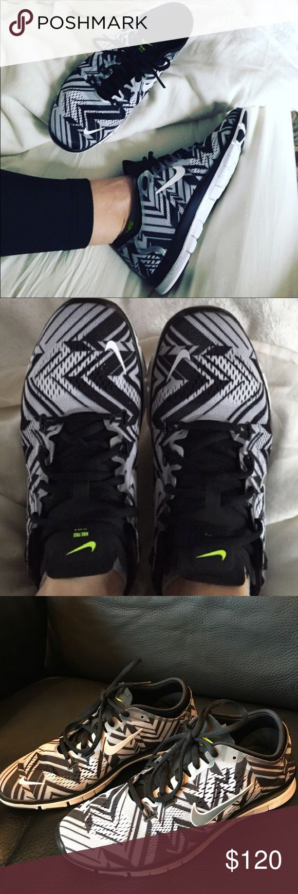 NIKE FREE 5.0 TR FIT 4 AZTEC SHOE SIZE 8 WORN ONCE 👟 PRICE FIRM UNLESS BUNDLED. WILL COME IN A BOX BUT NOT ORIGINAL BOX❤️NIKE FREE 5.0 TR FIT 4 AZTEC SHOE SIZE 8 . NEXT TO NEW ❤️WORN ONCE INSIDE❤️ SUPER HARD TO FIND. I JUST HAD TO HAVE THEM BUT NEVER WEAR THEM. NO STAINS OR MARKS. Shoes Athletic Shoes