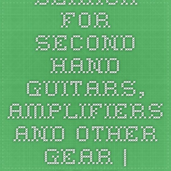 Search for Second Hand Guitars, Amplifiers and Other Gear   Page 1 (99653)
