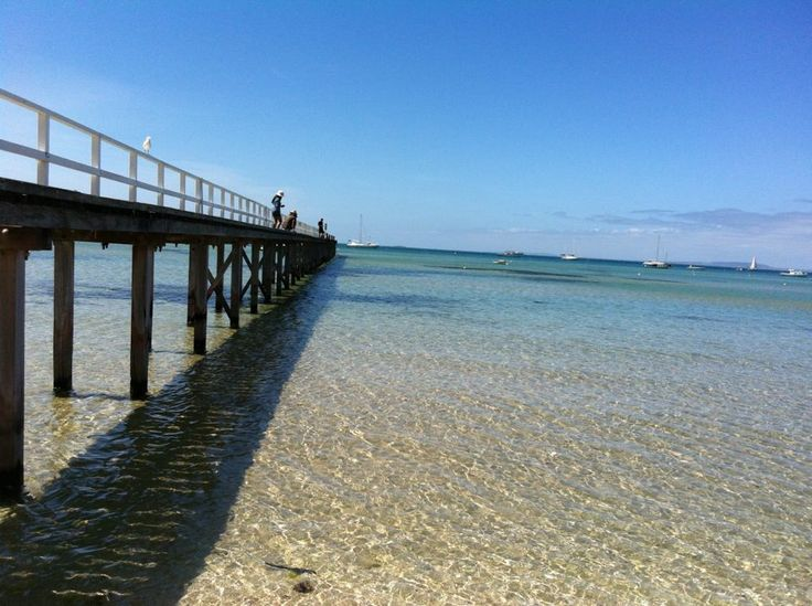 Boardwalk at Sorrento, Victoria.
