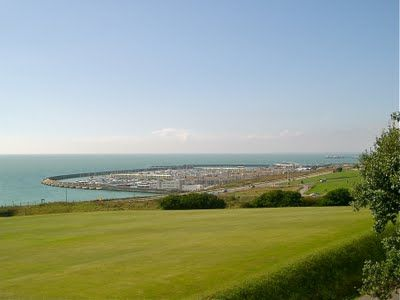 """View from my boarding school, Roedean, in Brighton, England"". What a view! Find out more about boarding schools in England at www.ukschoolsforyou.com"