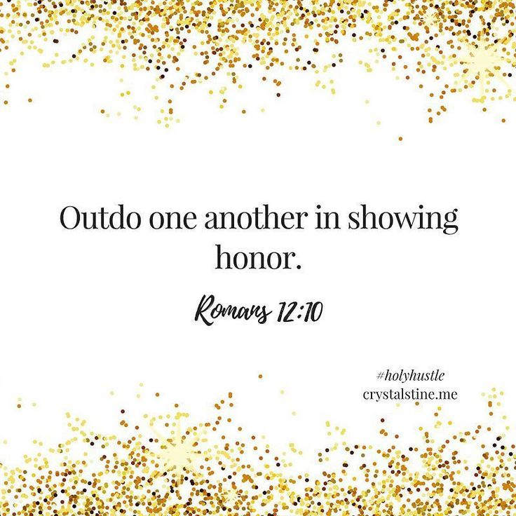 """God calls us to love. Love our neighbors love our enemies love one another. And that's all equal parts easy enough to remember and terribly hard to do most days.  Hustle means """"to work rapidly or energetically."""" What if we loved like that? Romans 12:10 instructs us to """"Outdo one another in showing honor."""" Outdo. That requires some hustle doesn't it? What if instead of walking all over one another for that next opportunity promotion or recognition we hustled to show one another honor today?…"""