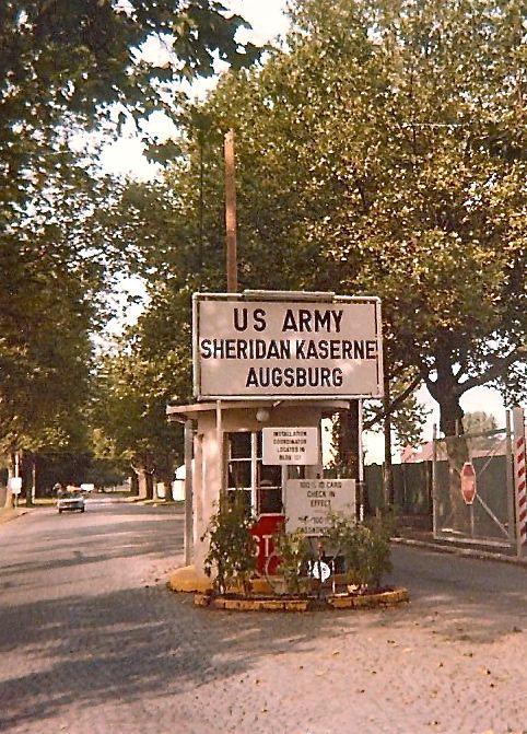 Amerika in Augsburg ~ Sheridan Reese Flak Fryar: Sheridan Kaserne