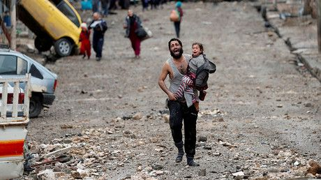 Chaotic Mosul evacuation caused more people to die – Lavrov https://tmbw.news/chaotic-mosul-evacuation-caused-more-people-to-die-lavrov  Iraq and the US-led coalition failed to create the conditions for an organized withdrawal of people from Mosul, which might have led to increased number of casualties during the operation against Islamic State, Russian Foreign Minister Sergey Lavrov has said.READ MORE: 'Trying to give civilians justice': Artist captures brutality of Mosul in poignant…