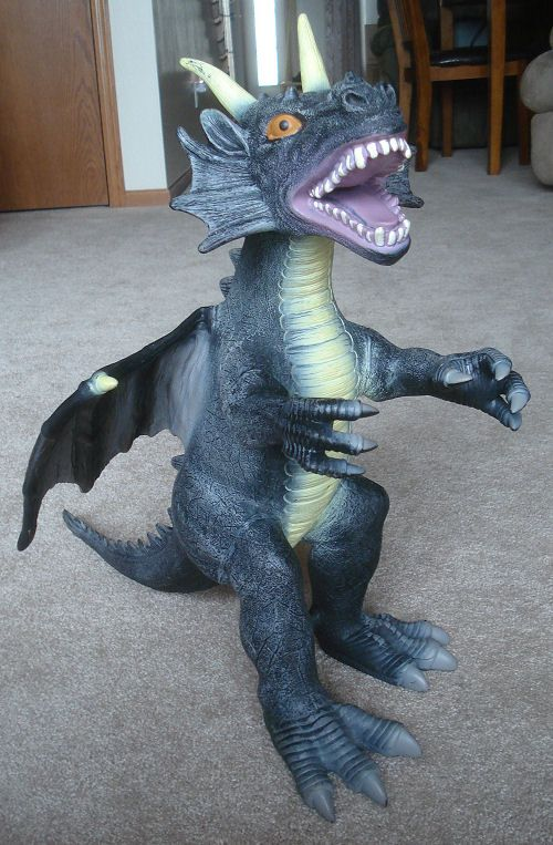 large rubber dragon toys r us maidenhead 18 5 u0026quot  tall 20