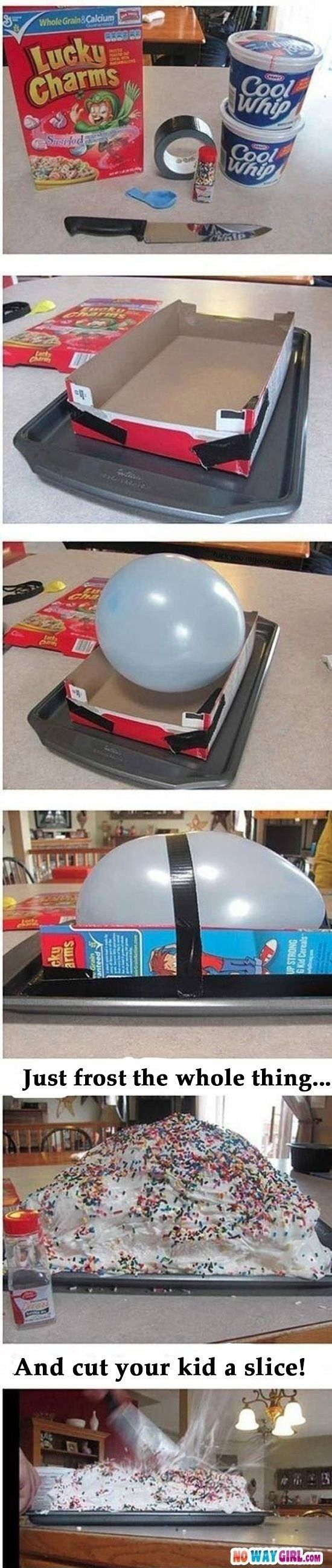 Lastly, if you're feeling really ambitious you can try this outrageous prank. | 37 Next-Level April Fools' Day Pranks Your Kids Will Never Forget