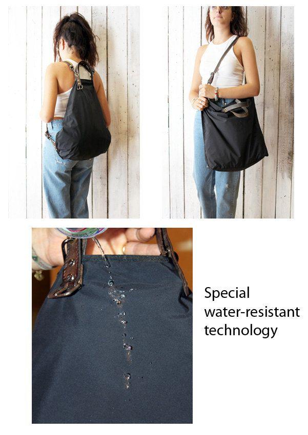 ALLEGRA BAG\BACKPACK , Handmade water-proof fabrick multi-bag di…