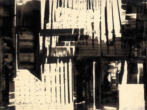 Marian Bogusz (Poland, 1920 - 1980) Kompozycja 1960