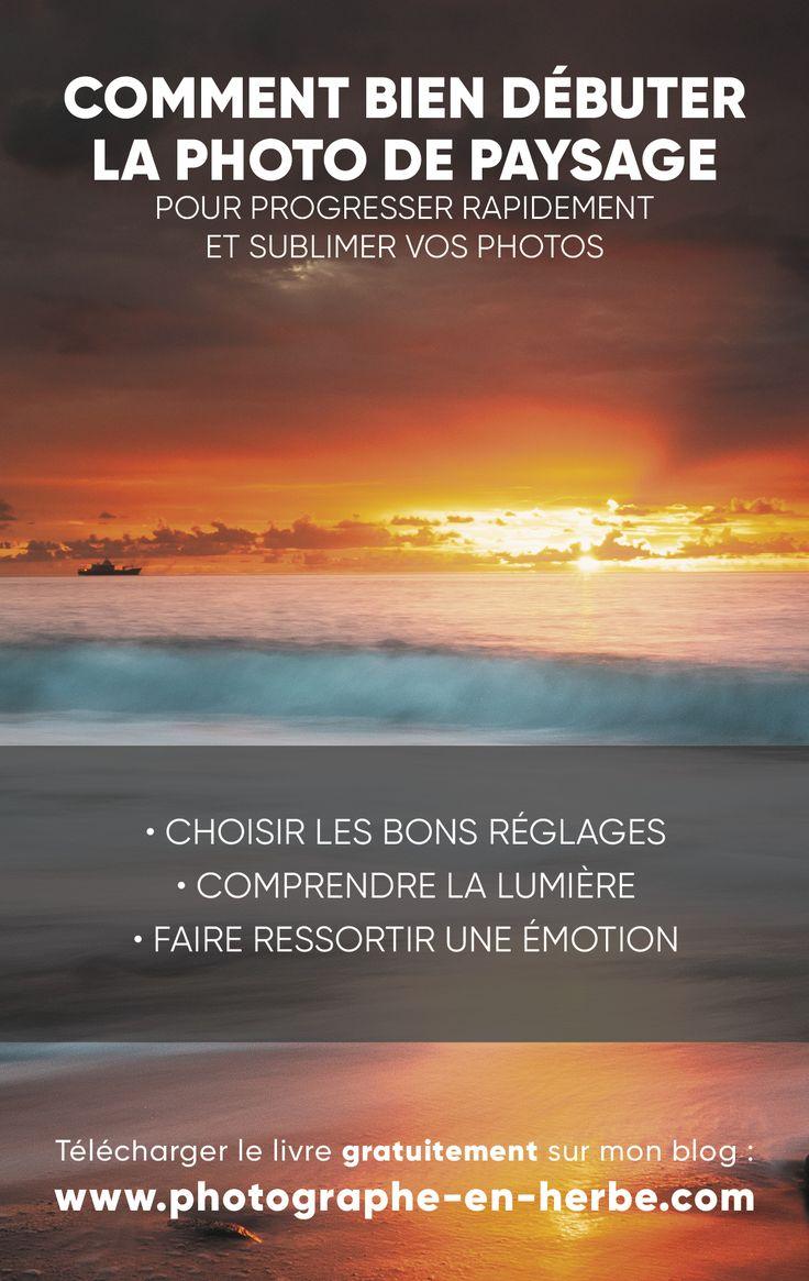 E-book gratuit : Remark bien débuter la picture de paysage