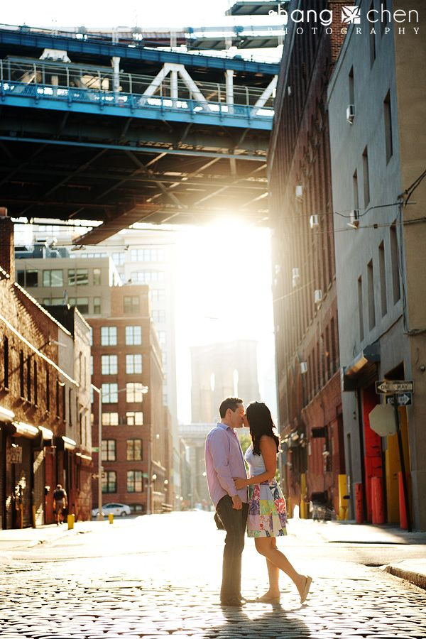 Jade and Jorge, Engaged! | West Village and Brooklyn Bridge Park in New York