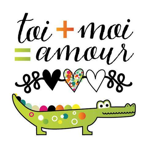 Crocodile d'amour – picotatoo