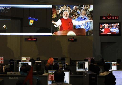 """""""India captures orbit around Mars!"""" latest top news at GISMaark News express visit http://gismaark.com/NewsExpressViews.aspx?NEID=51"""