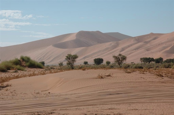 On our way to Sossus Vlei