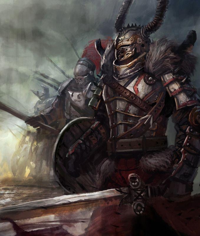 Воины Оружие Доспехи