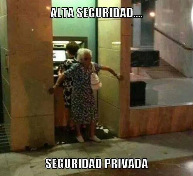 fotos de risa seguridad privada