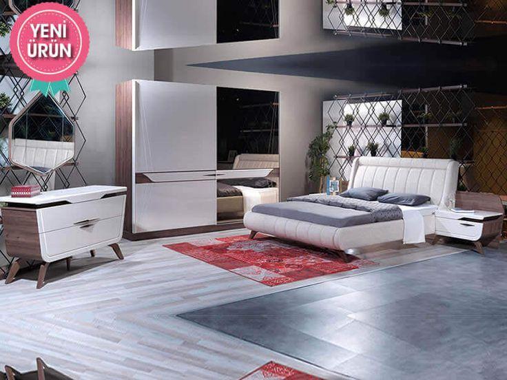 Sönmez Home | Modern Yatak Odası Takımları | Flamingo Yatak Odası  #EnGüzelAnlara #Yatak #