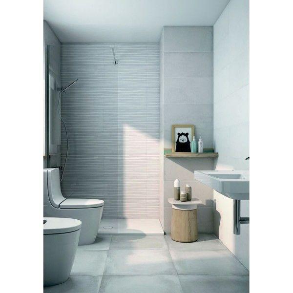 Revestimiento Ceramico Suite Gris 31x61cm Amsterdam Roca