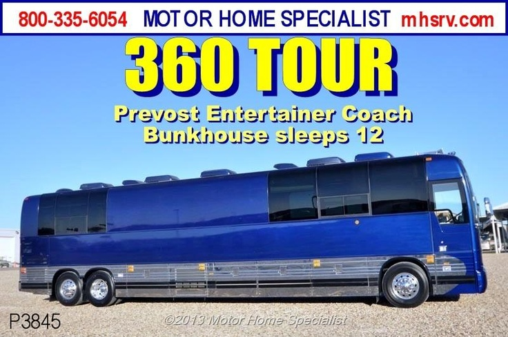 Used 2007 Prevost XLII Entertainer W/Slide - Tour Bus For Sale For Sale by Motor Home Specialist available in Alvarado, Texas