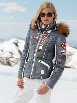 Bogner Karea D Alum Jacket With Fur 1848 Onward To