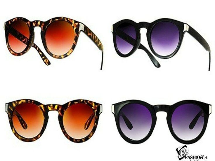 Okulary Przeciwsłoneczne Vintage Hipster Nerd Geek