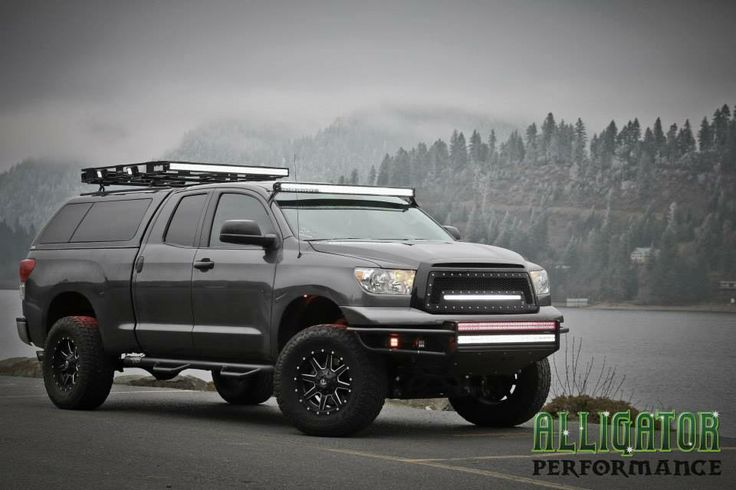 Toyota Tundra With Led Light Bars Truck Ideas Pinterest