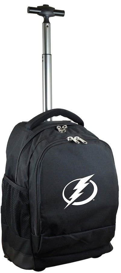 NHL Tampa Bay Lightning Premium Wheeled Backpack