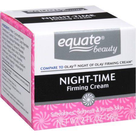 Equate Beauty Night-Time Firming Cream, 2 fl oz - Walmart.com