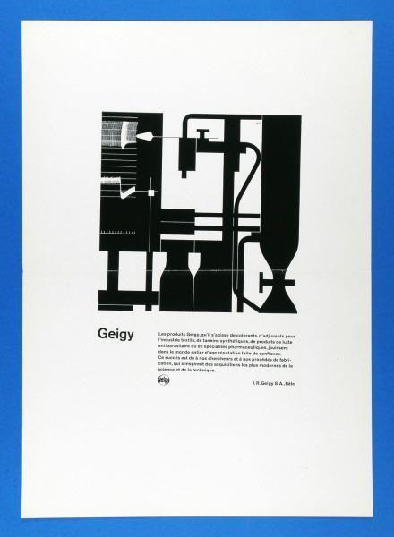 Karl Gerstner – Geigy-Gebrauchsgrafik