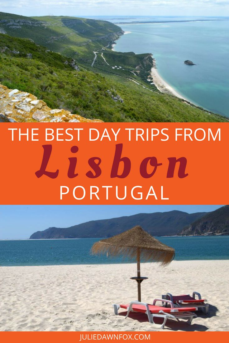 Lisbon, the World's Leading City Break Destination in 2017, is in an extremely fortunate position. Not only is it a fascinating riverside city, it's also within spitting distance of stunningly beautiful beaches, natural parks, medieval castle towns, distinct wine regions and historical sights. Click through to find out my top 17 Day Trips from Lisbon to add to your Portugal Itinerary. | Julie Dawn Fox in Portugal #lisbon #portugal #daytrips