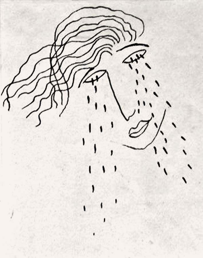 Luz y artes: Nuevo poema y triste dibujo de Federico García Lorca