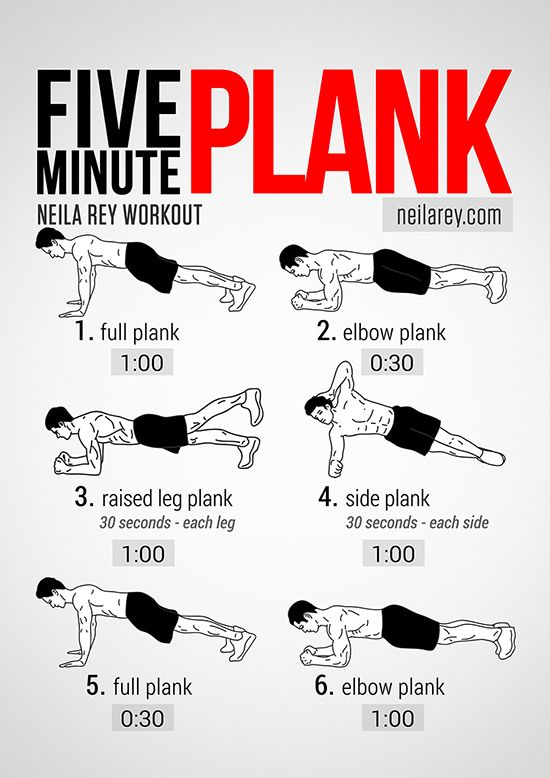 Five Minute Plank Workout #abs #core #fitfluential