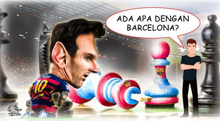 Lionel Messi (Design:Abdillah)