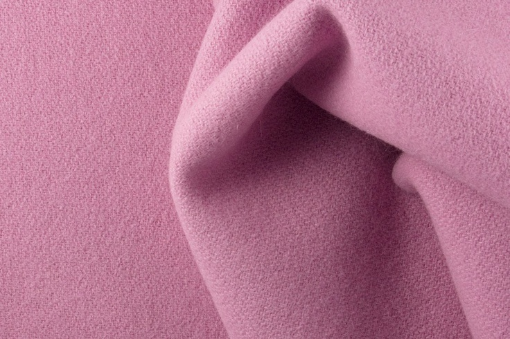 Britex Fabrics Rose Pink Melton Wool Blend Coating Fabric Sewing Supplies Pinterest And