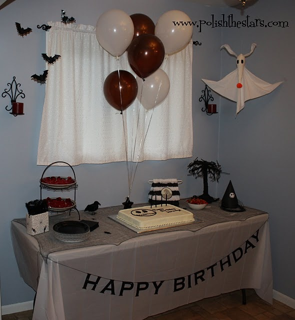 60 Best Nightmare Before Christmas Birthday Party Ideas Images On