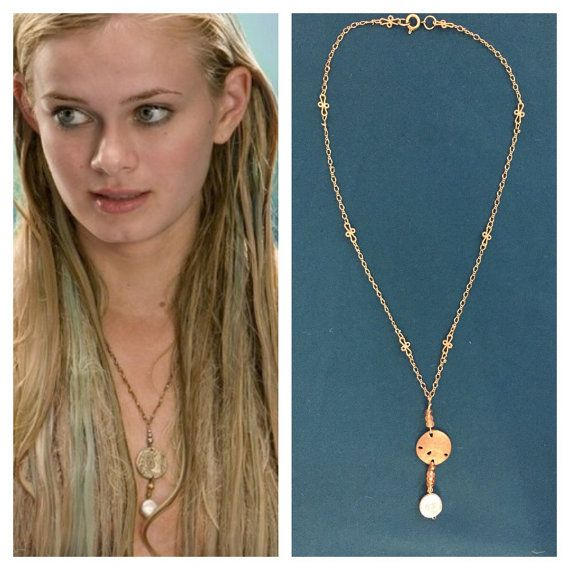 Aquamarine Movie Replica Necklace by TheVirginiaMermaid on Etsy