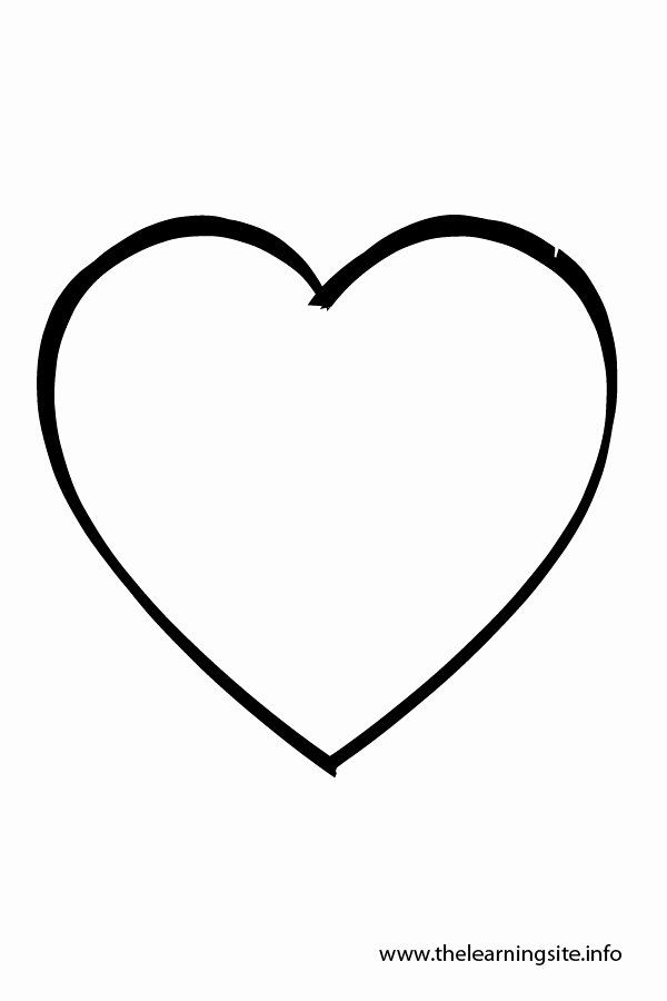 Heart Shape Coloring Page Beautiful Small Heart Shape Clipart Best Shape Coloring Pages Heart Coloring Pages Ninjago Coloring Pages