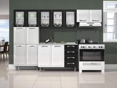 Cozinha Compacta Itatiaia Premium com Balcão - 13 Portas 4 Gavetas com as melhores condições você encontra no Magazine Mgazinenunes. Confira!