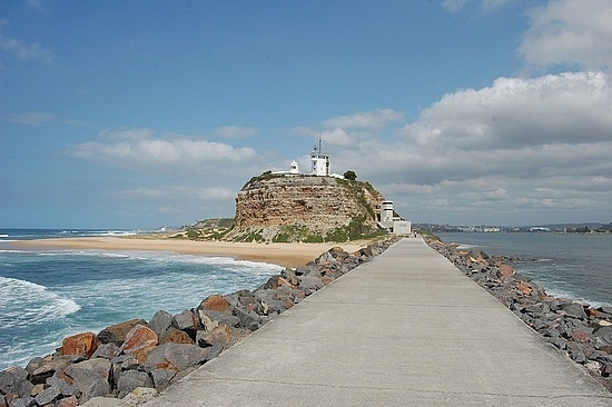 Newcastle Australia, I walked up to this light house a long time ago.