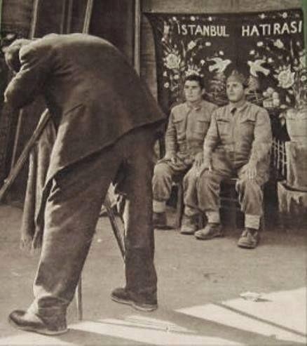 Sokak fotoğrafcısı, 1960 lar, İstanbul Hatırası.