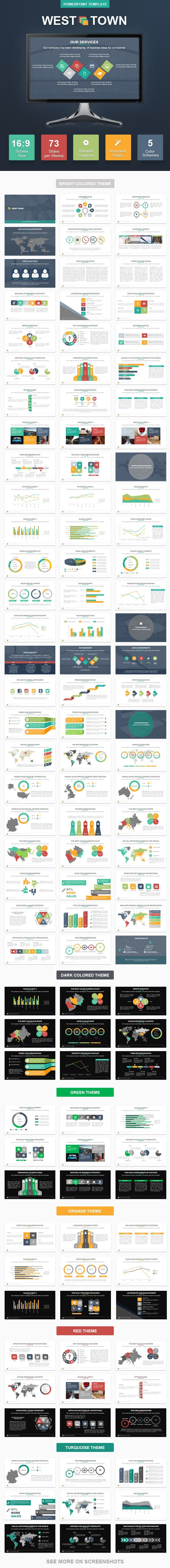 WestTown PowerPoint Presentation Template #design Download: http://graphicriver.net/item/westtown-powerpoint-presentation-template/11494206?ref=ksioks