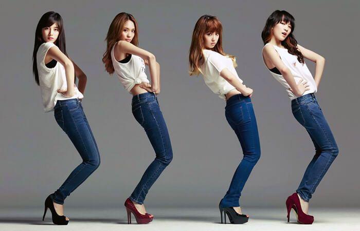 джинсы для высоких девушек