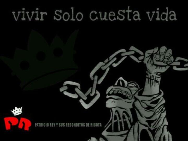Vivir solo cuesta vida #quoute #Frase #LosRedondos