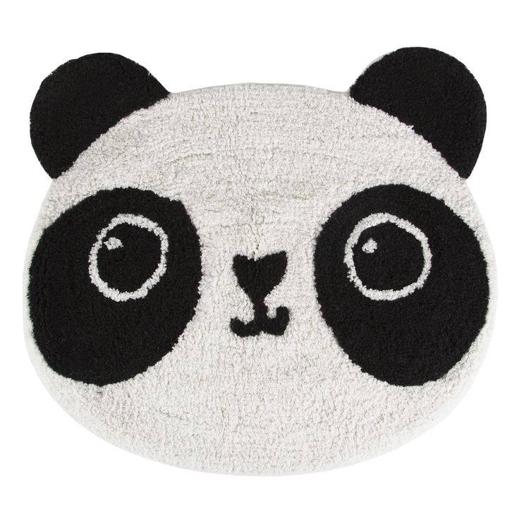 Sass & Belle rug panda 61 x 54 cm