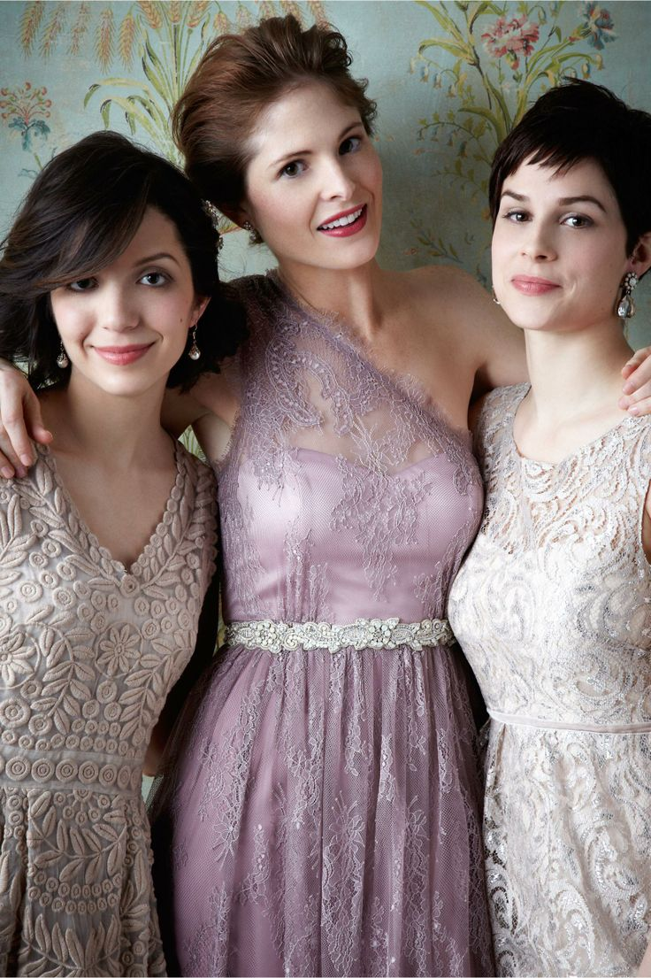 24 best bridesmaid dresses images on pinterest bridesmaid ideas style choose varying colors andor textures for your bridesmaids dresses to create ombrellifo Images