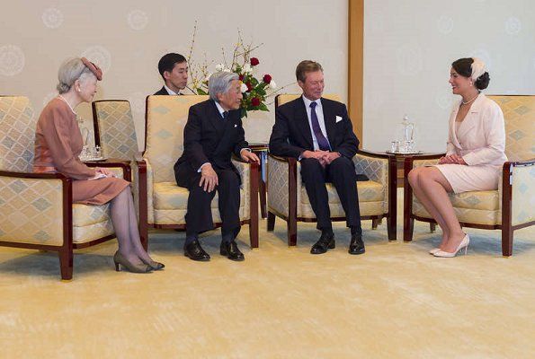 Duke Henri's and Princess Alexandra's state visit to Japan