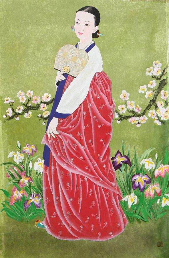 박연옥 미인도(美人圖)
