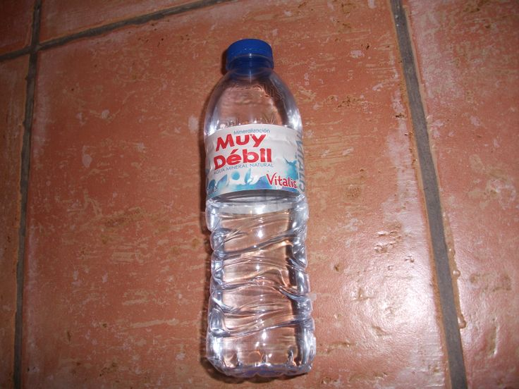 Marca de agua embotellada, vitalis significa vital o de la vida.