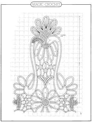 Romanian Point Lace pattern from Magic Crochet magazine