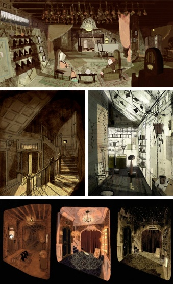 Illustrations for Coraline